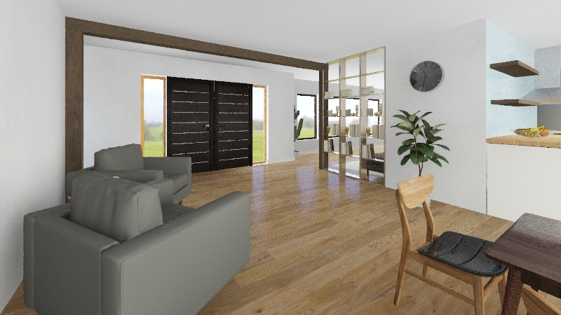 Campbell Residence! Interior Design Render