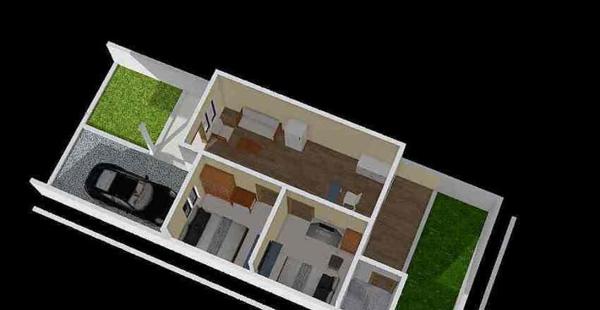 Rumah 40/87 Interior Design Render