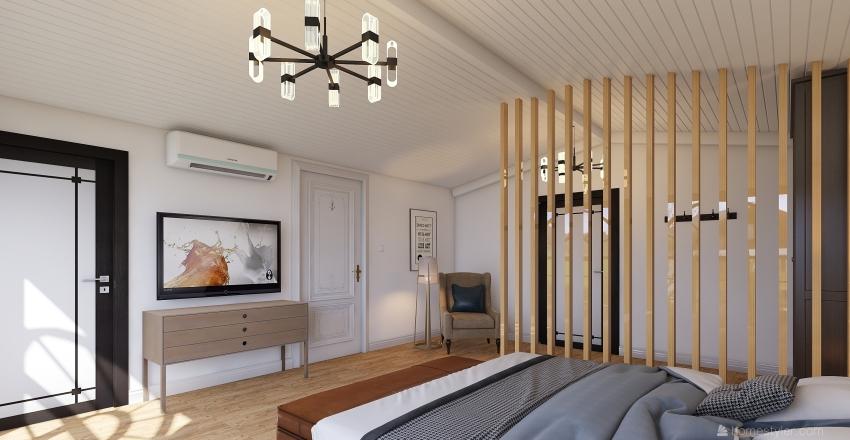 Estilo Scandinavian Interior Design Render