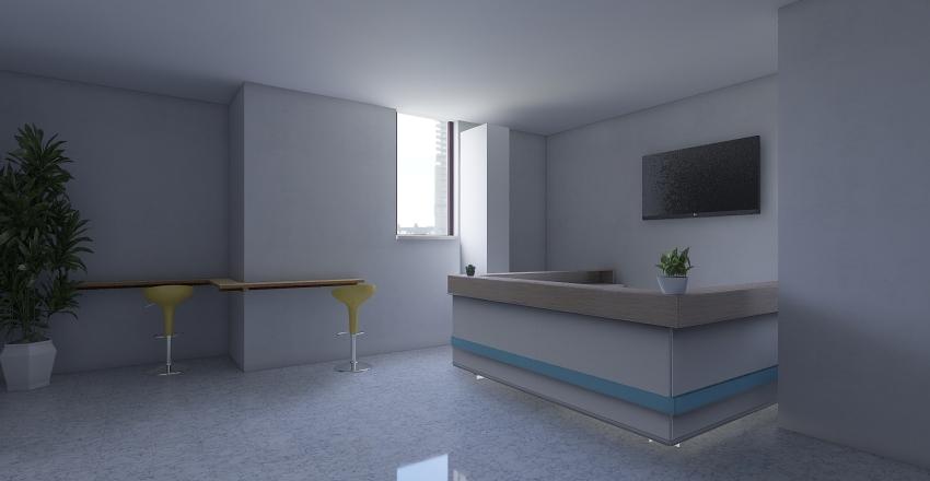 coffee corner Interior Design Render