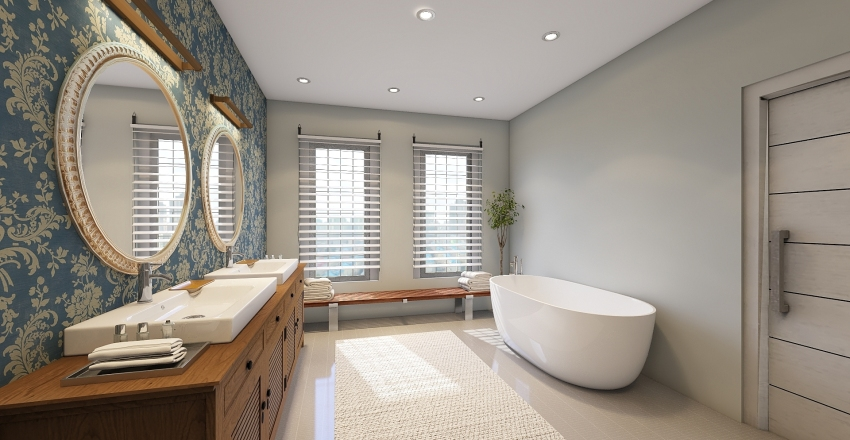 MODERN BATHROOM Interior Design Render