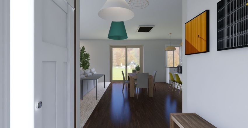 JAIDER AND KATHY Interior Design Render