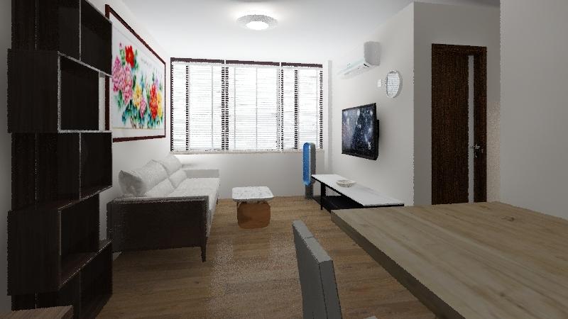 My Home_design 1_謝明光 Interior Design Render