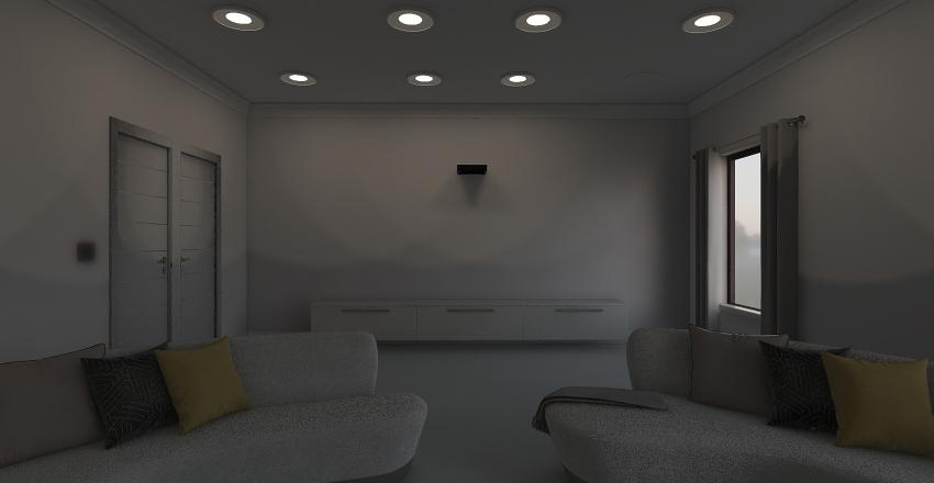 Theater Interior Design Render