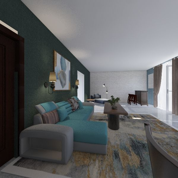 sitting area02 Interior Design Render