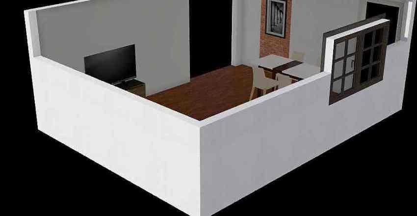 Obyvák tg Interior Design Render