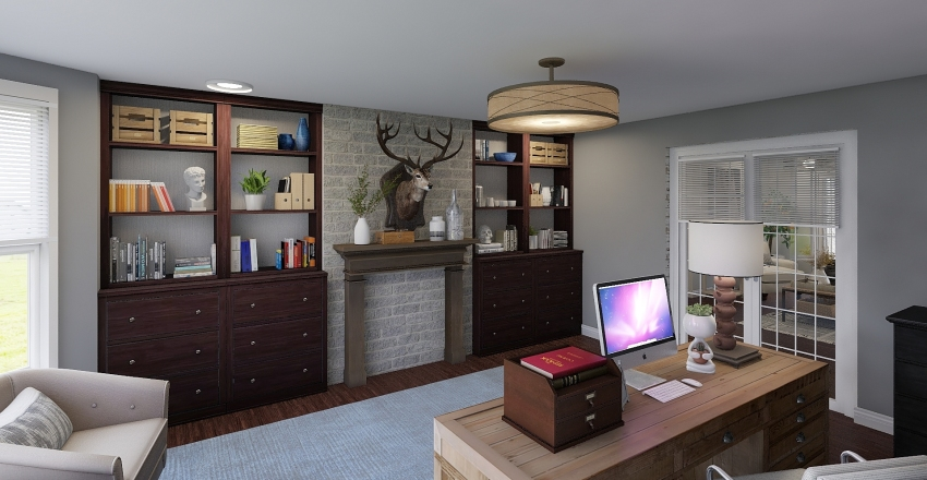MacIntosh's Home 1 Interior Design Render
