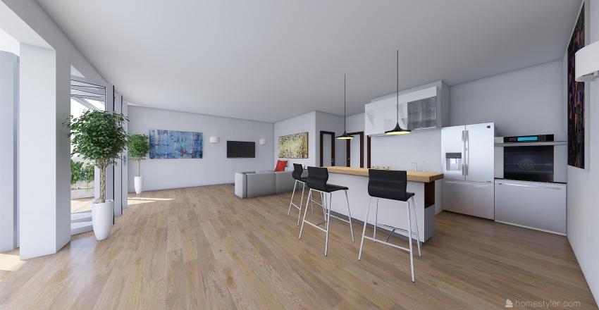 Villa Nosy Lonjo Interior Design Render