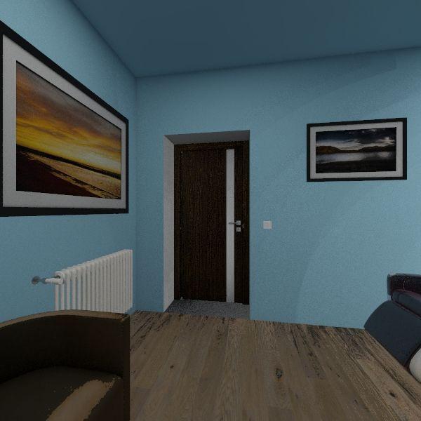 Зона отдыха Interior Design Render