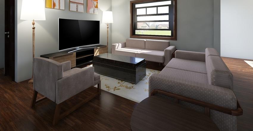 Final Project KOS Interior Design Render
