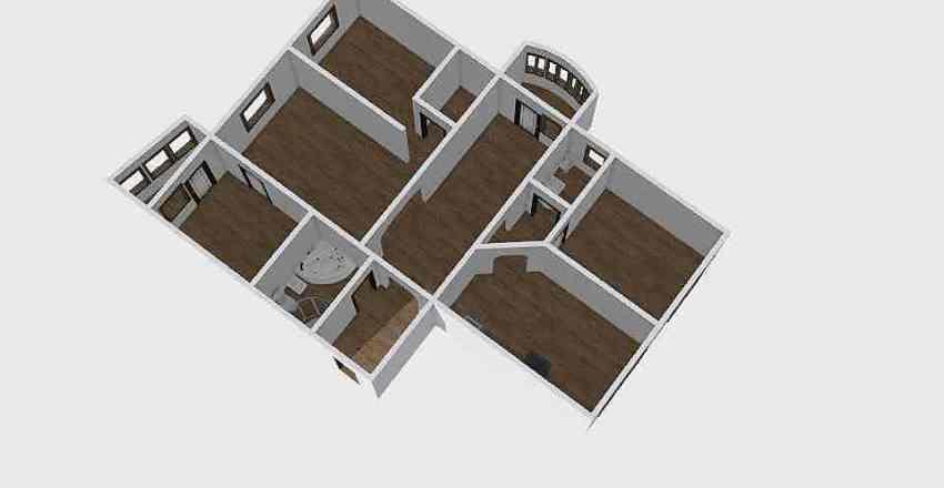 3-комн_0220 Interior Design Render