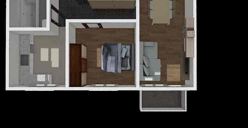 Sztabu 27/10 Interior Design Render