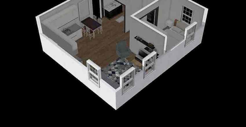 design tiny house Interior Design Render