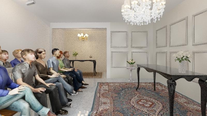Projeto Cartório - Opção 4 Interior Design Render