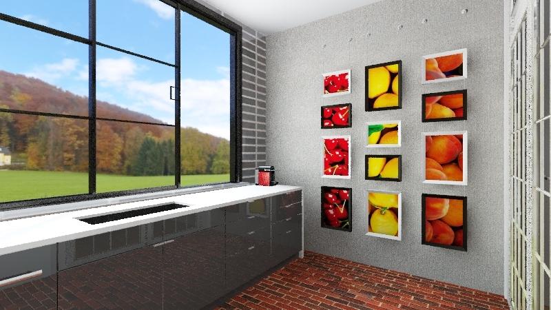 CASA Thiago  Interior Design Render