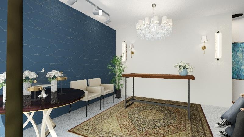 Projeto Cartório - Opção 2 Interior Design Render