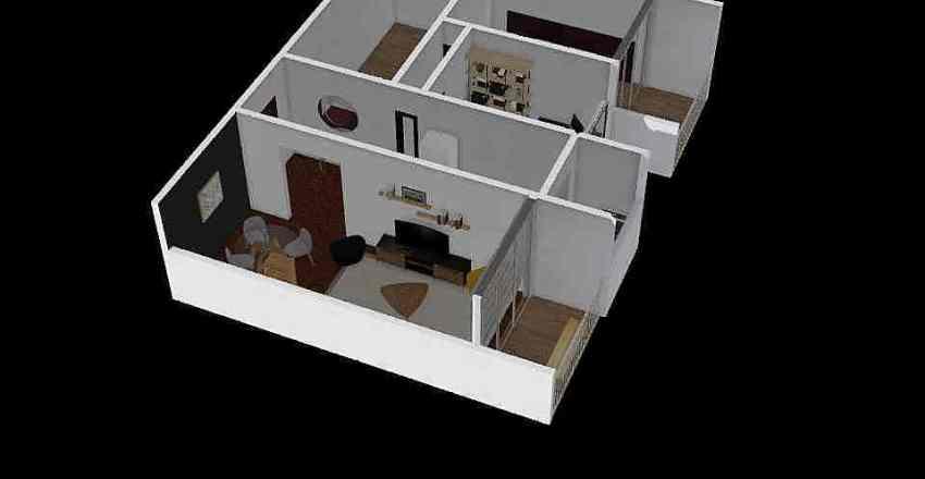 Depto - cambios ISA Interior Design Render