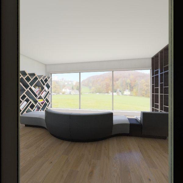 House Modern 1 Interior Design Render