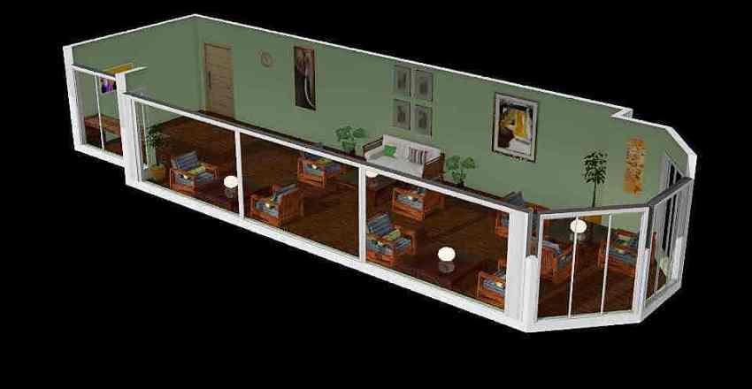 Summer terrace1 Interior Design Render