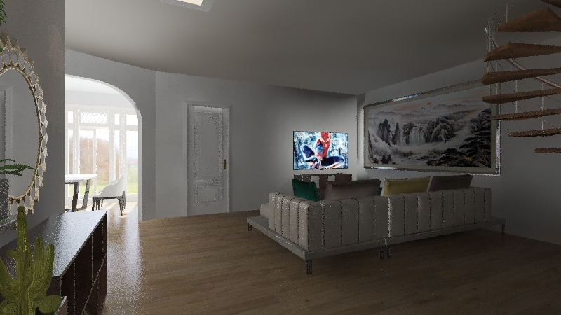 My Bungalow  Interior Design Render