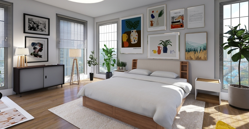 Joy Room  Interior Design Render