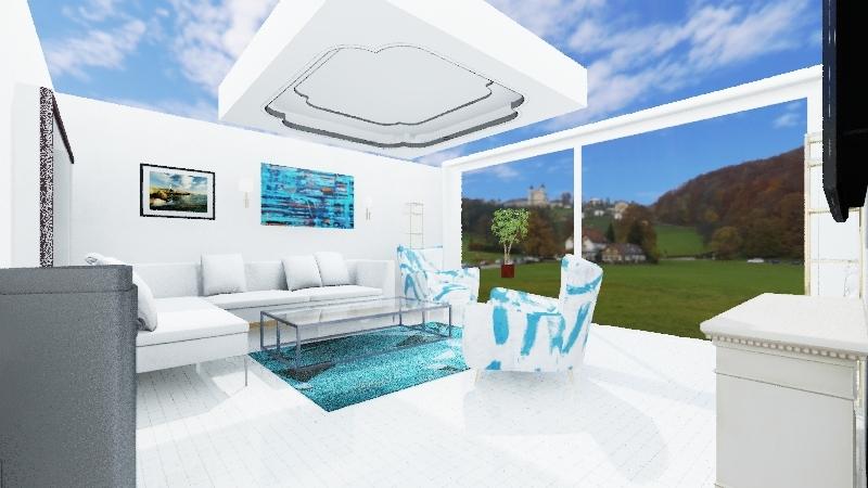 dom kamienczyk Interior Design Render