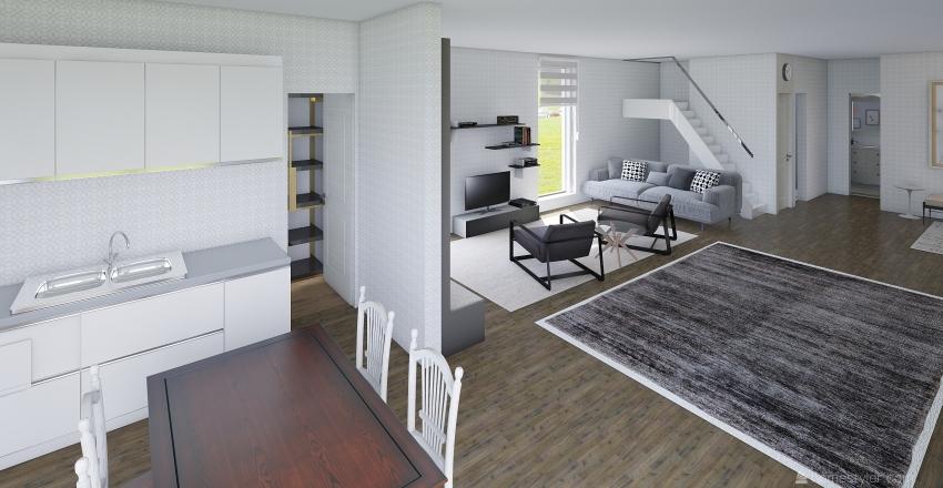 Casa Bogdan Interior Design Render