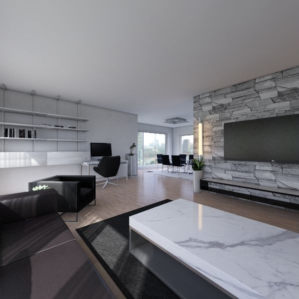 Tech Design house 3 Interior Design Render