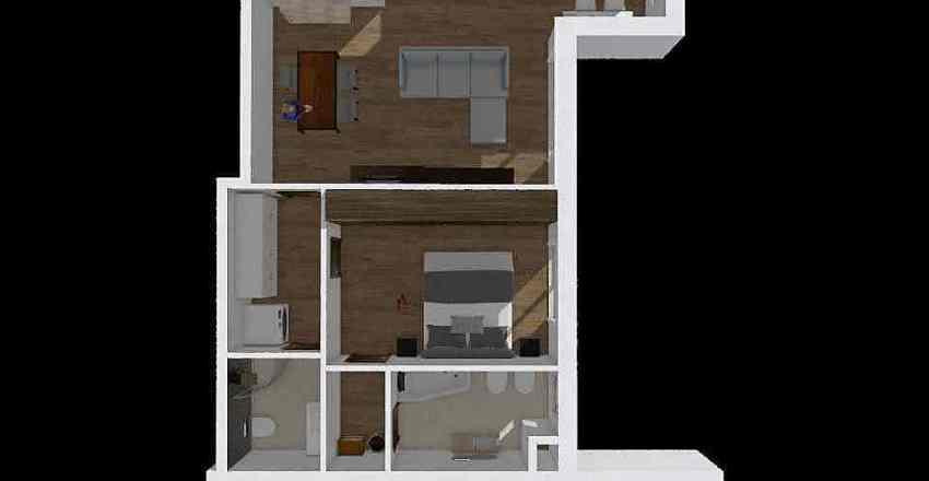 Planimetria Arredata Interior Design Render