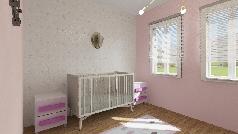 adrianas baby Interior Design Render