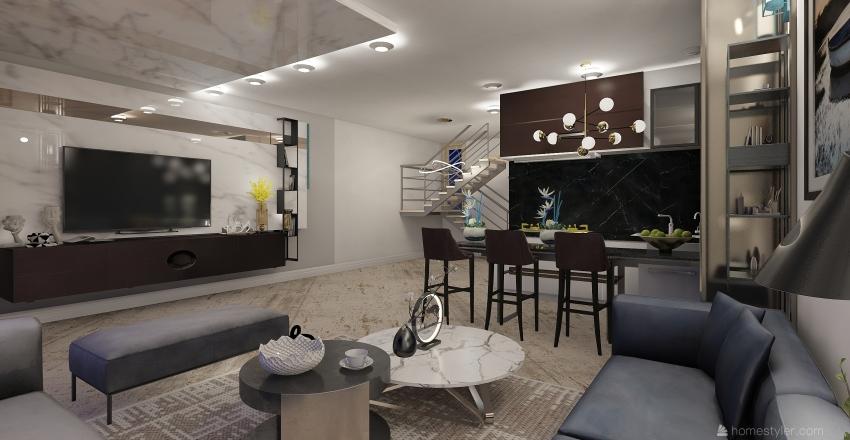 b Interior Design Render