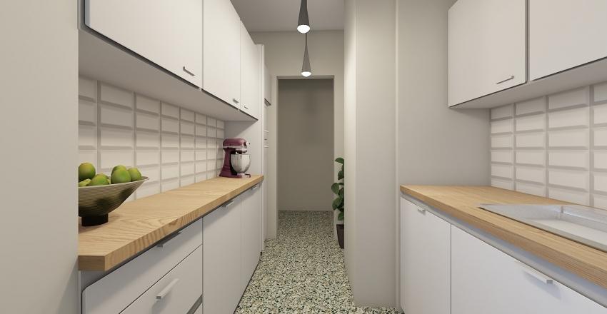 nea smirni Interior Design Render