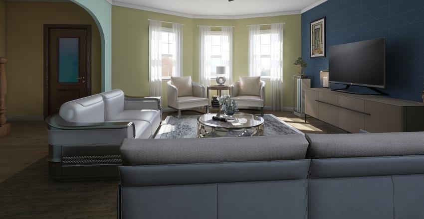 Horumba Residence Interior Design Render