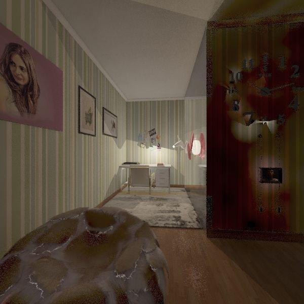 Mandarin Summative Interior Design Render