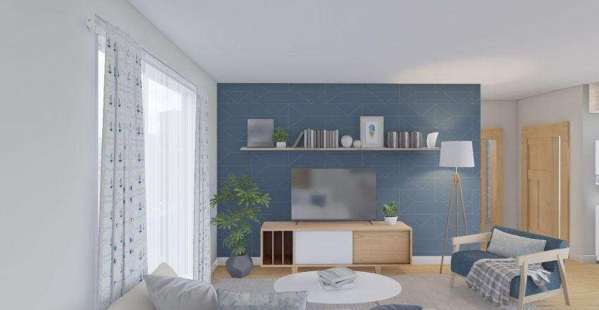 New Family Apartment Interior Design Render