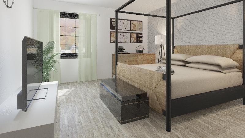 Sabrinas Room Interior Design Render