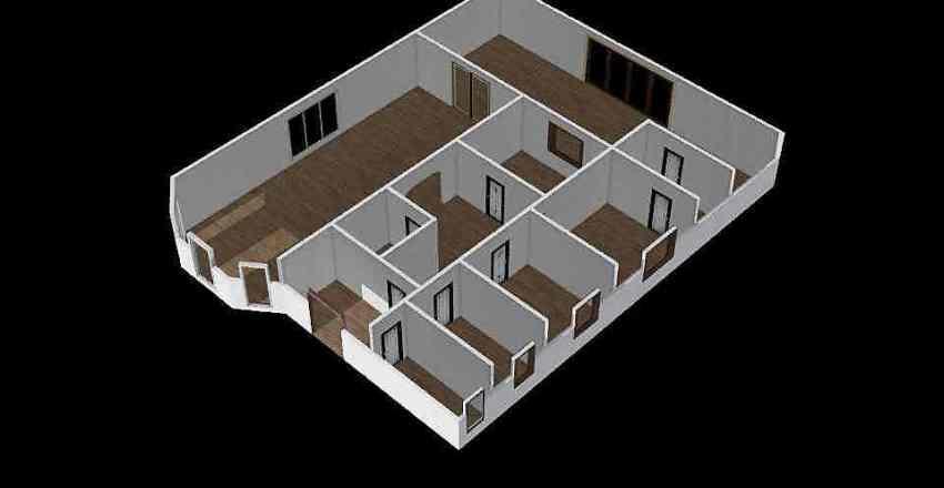 Дом одноэтажный Рублевка Interior Design Render