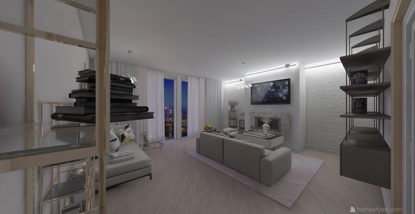 Проект  № 2 жилой дом Interior Design Render