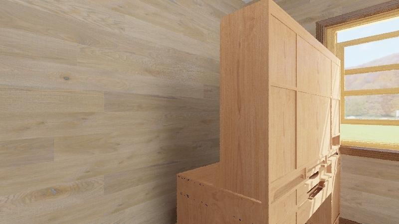 Rustic Room  Interior Design Render
