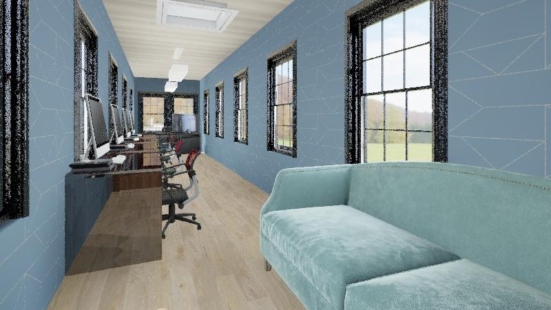 comm room Interior Design Render