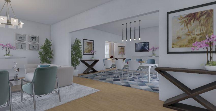 Single Floor Interior Design Render