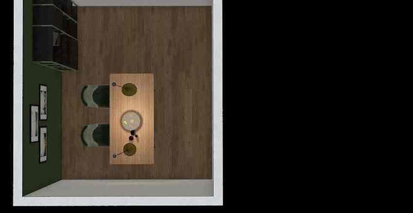 loft jadalnia Interior Design Render