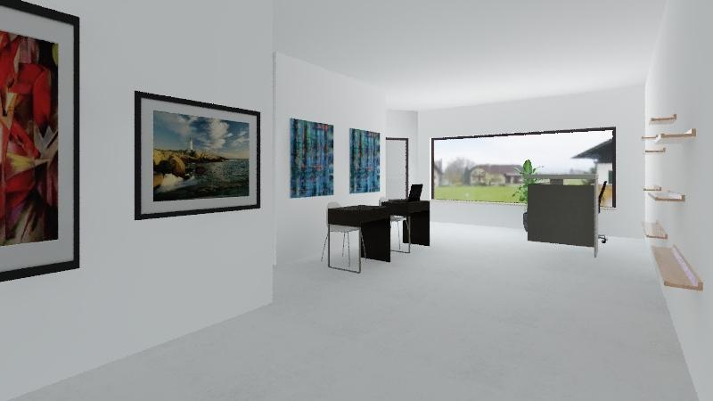 Rendevous Office Interior Design Render