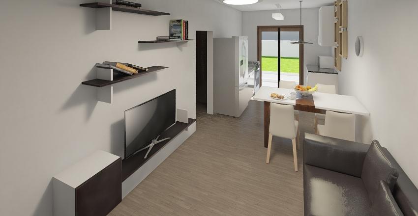Campo Largo 50m Interior Design Render