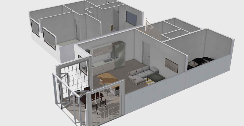 Rose Av Interior Design Render