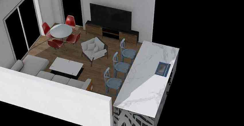 Obývačka 1 Interior Design Render