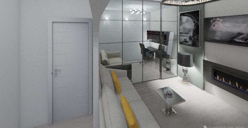 жилая 6 к 1 Interior Design Render
