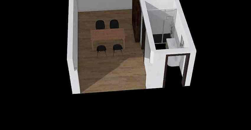 Tutoring Room plus bathroom Interior Design Render
