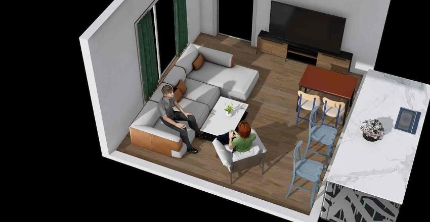 Obývačka 2 Interior Design Render
