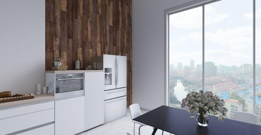 Luxury and Minimalism Interior Design Render